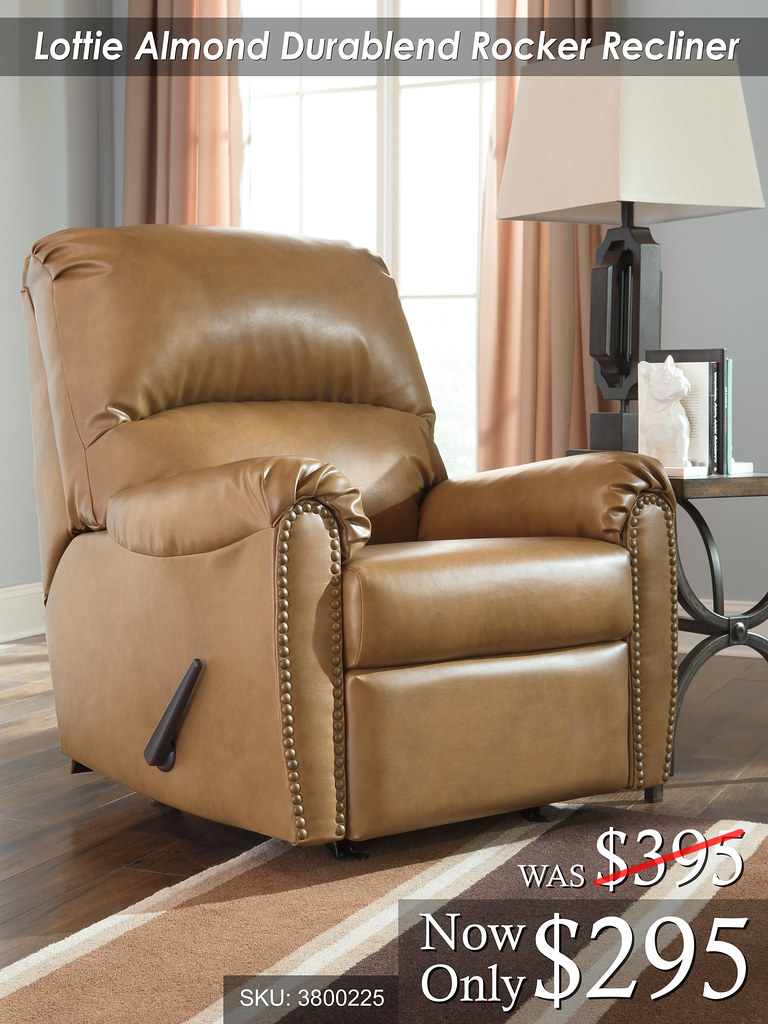Lottie Almond Rocker Recliner