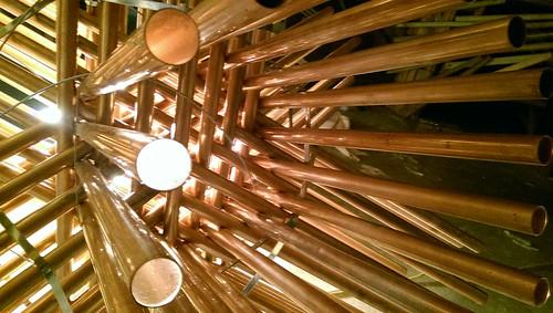 copper star, interior