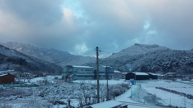 시골집 풍경: 하얀 겨울나라