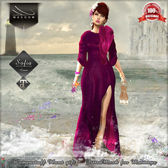 [[ Masoom ]]  Sofia gown Womenstuff hunt