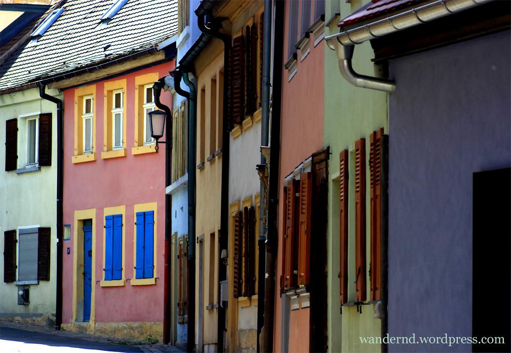 Straßenzug Altstadt Bamberg