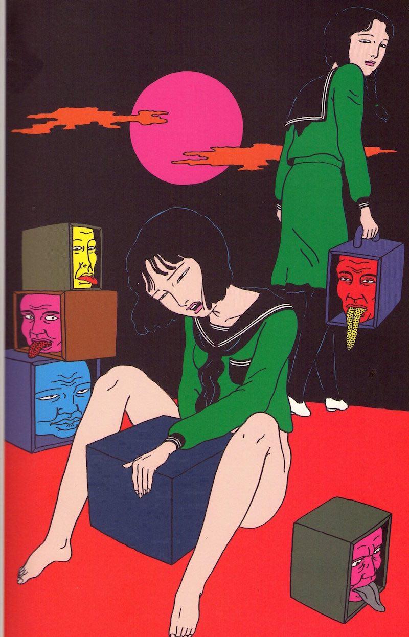 日本病態暴力美學教父—佐伯俊男的情色烏托邦2