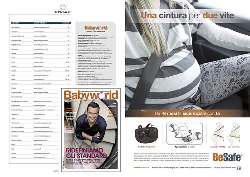 Pubblicità BeSafe BabyWorld