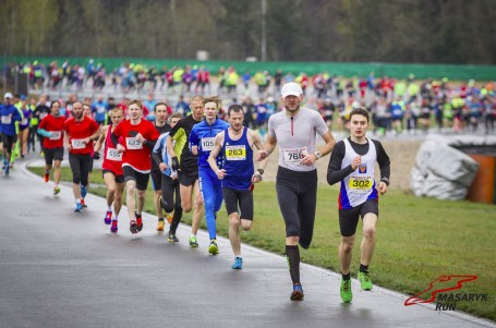 Masaryk run 2016 i v dešti s úsměvem