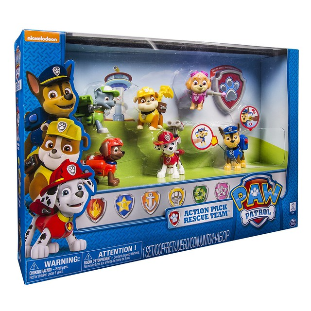 Paquete De 6 personajes
