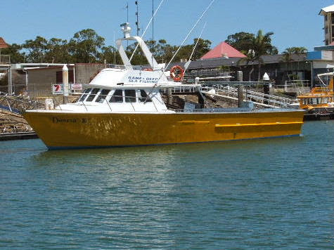 how to go deep sea fishing without a charter