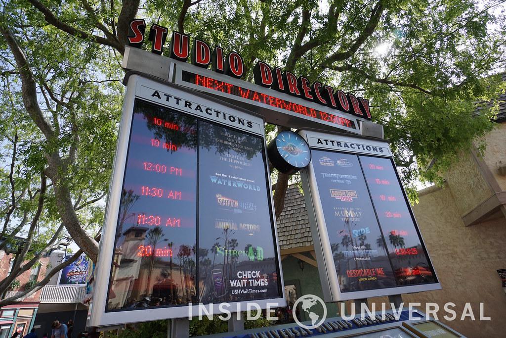 Photo Update: March 20, 2016 - Universal Studios Hollywood - Digital Display Board