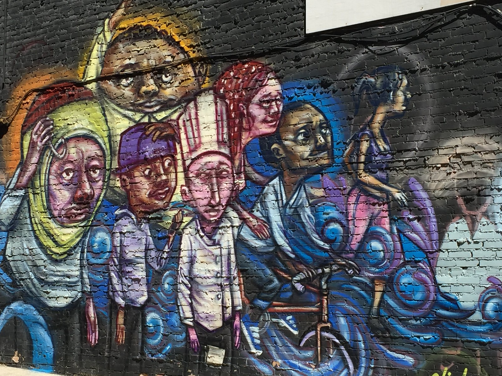 mural found in Kensington Market