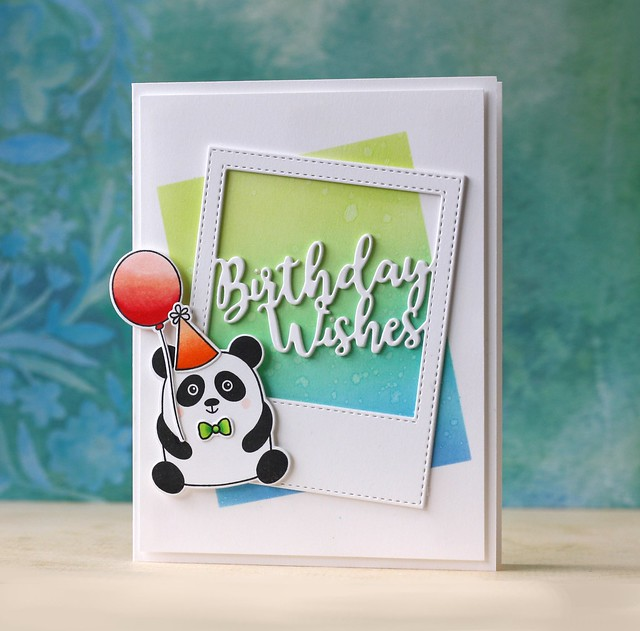 SSS-Birthday Wishes Frame & Cuddly Critters
