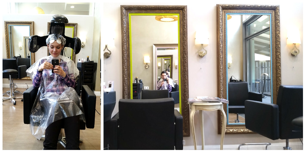 Окрашивание Organic Color Systems в салоне Beauty Corner - отзыв