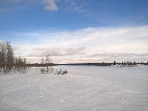 winter snow ice finland river easter eastersunday kittilä ounasjoki richcapture shotonmylumia microsoftlumia640xl
