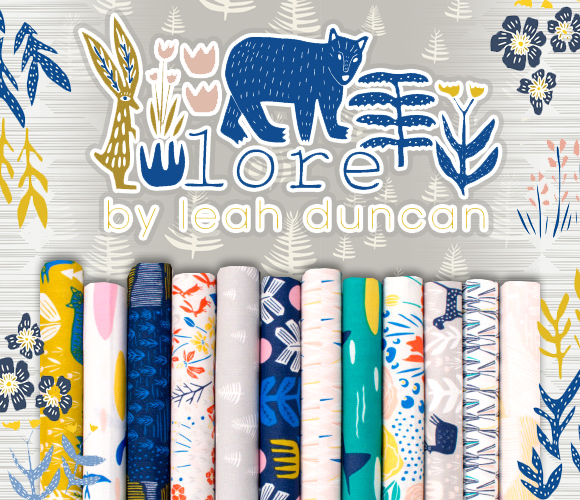 Cloud9 Fabrics Lore Collection by Leah Duncan