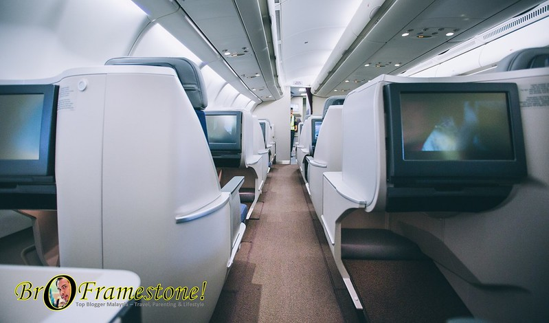 Malaysia Airlines A330-300 Aircraft New Business Class Seats