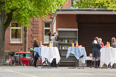 Eröffnung Bücherregal Heidelberg-Weststadt