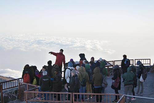 Curso de meteorología en el Teide