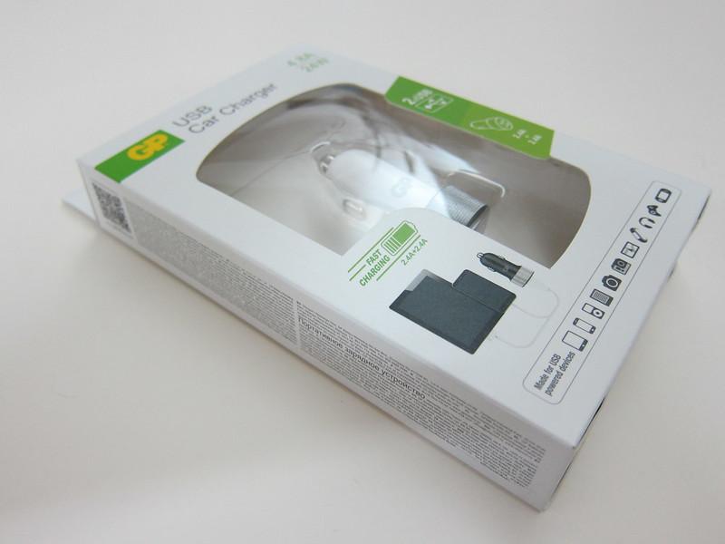 GP USB Car Charger - Box