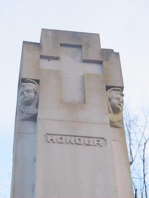 War Memorial Detail, Memorial Park Romsey