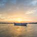 solitary boat by xvasilis650