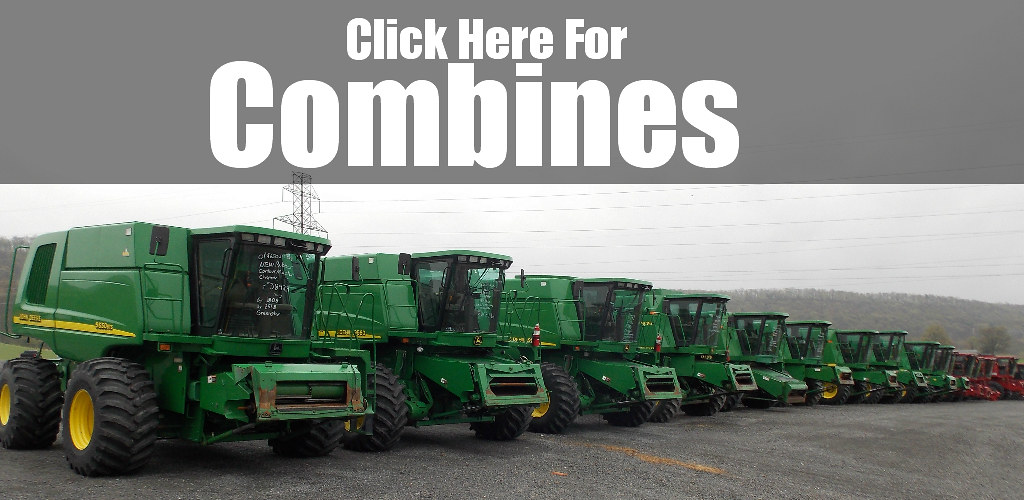 Used John Deere combine for sale