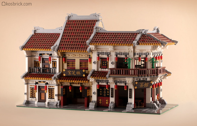 LEGO Modular Building - Chinatown
