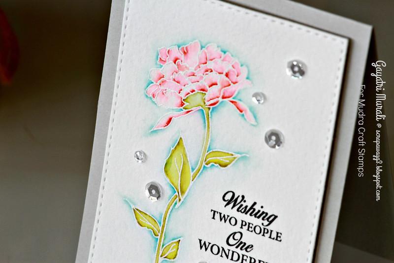 Wishing card clsoeup