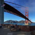 Golden Gate Bridge at Fort Point