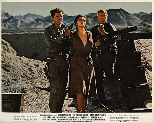 The Professionals - lobbycard 2