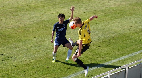 Auckland City FC V Wellington Phoenix 24 January