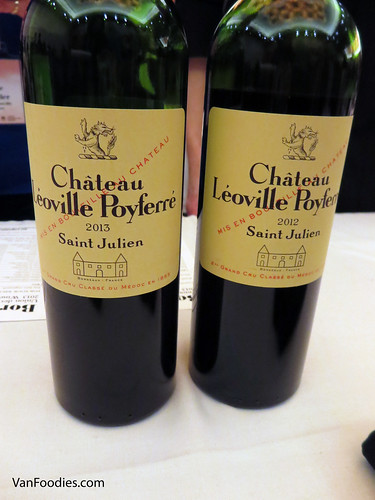 Chateau Leoville Poyferre Rouge 2012 and 2013