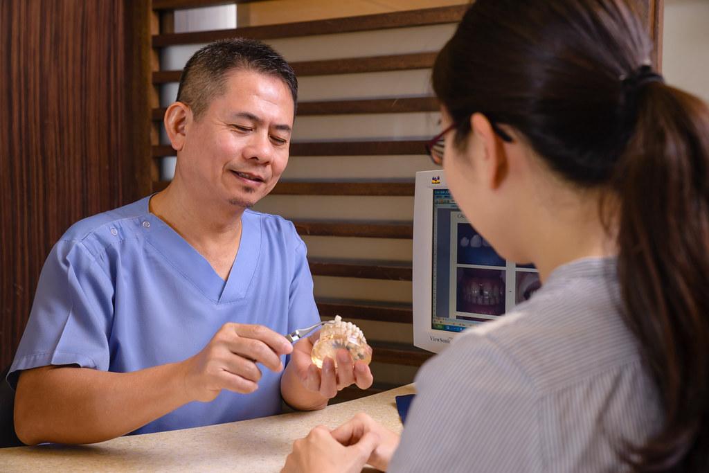 陶瓷貼片打造我的白皙牙齒,就交給台南佳美牙醫塗祥慶醫師吧~ (4)