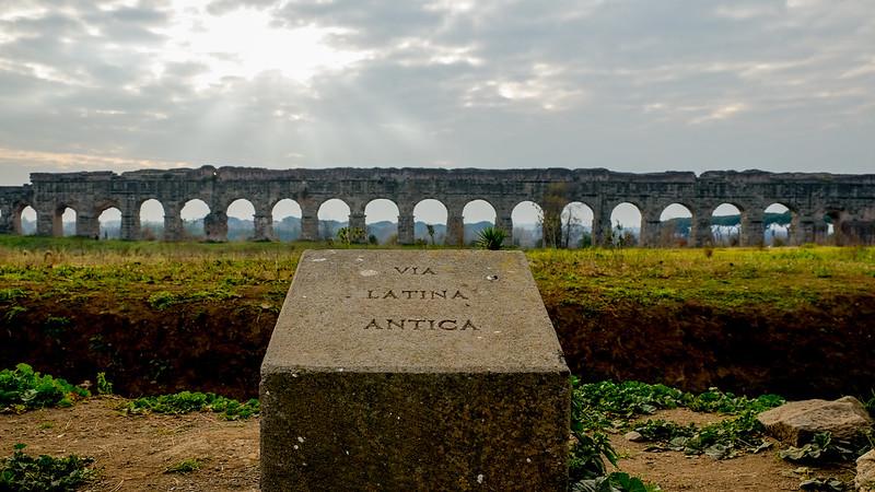 via latina antica