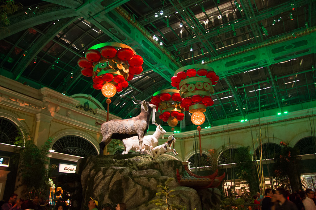 Bellagio Conservatory in Las Vegas - Chinese New Year Theme