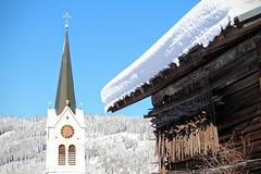 Dorfkirche in Riezlern