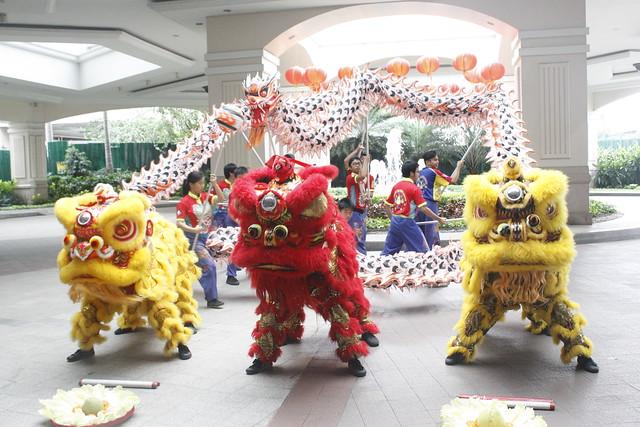 Lion and Dragon Dance 1