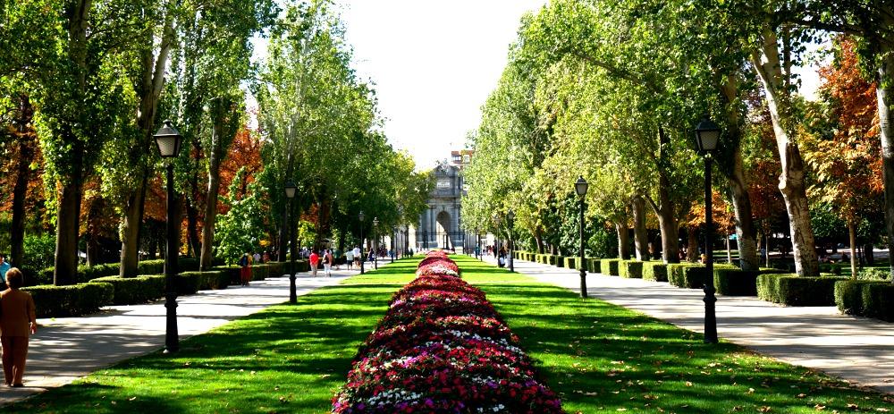 Buen Retiro Park Gardens