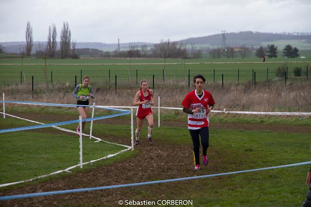 Demi - finale championnats de France de cross à SENS