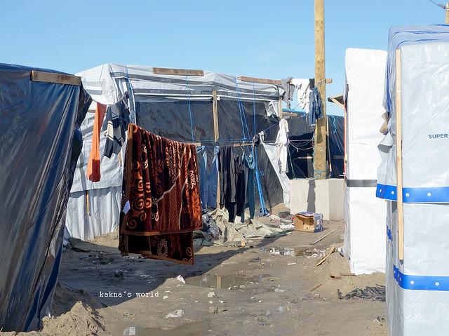 Calais - Refuges et Lieux de vie