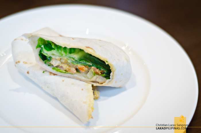 Crema Marriott Manila Sandwich Wrap