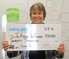 Jo Anne La Casse from Meridian, ID - $70,000 Super 7s