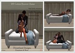 DD Cotton Heaven Chaise Vendor