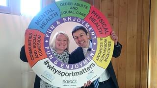 Ken Supporting #whysportmatters