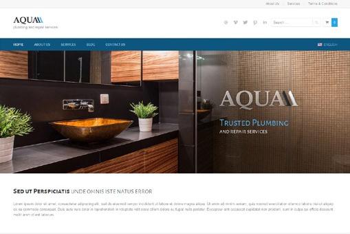 Ait-Themes Aqua v1.0 – Theme for Plumbers