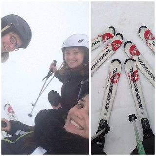 Collage Skiing