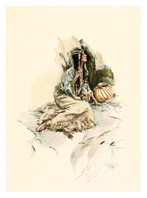 023-The song of Hiawatha -1906- Harrison Fisher