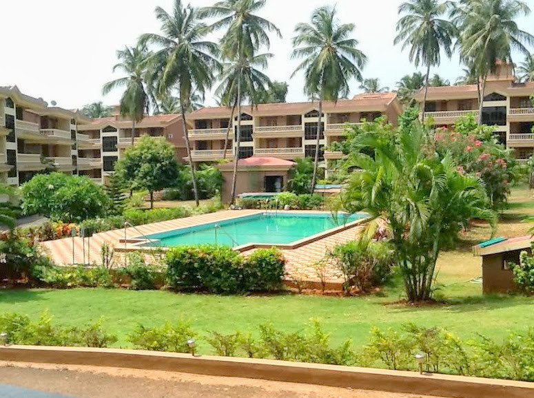 2BHK Apartment with pool in Candolim