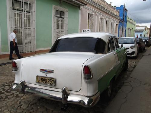 Trinidad: notre taxi pour la matinée (dans la Valle de los Ingenios)