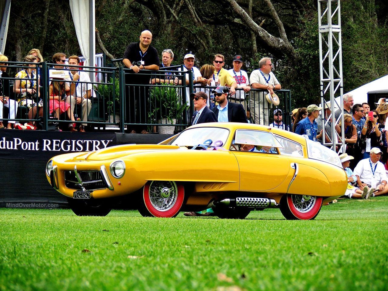 1952 Pegaso Z-102 Cupula Coupe Amelia Island 2