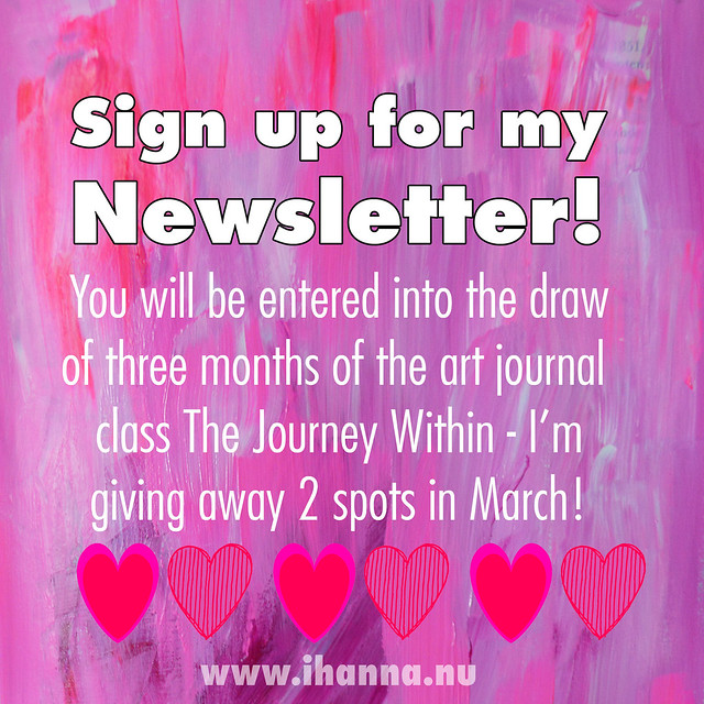 iHanna's Newsletter is the best so sign up in March 2016 to WIN BIG - at www.ihanna.nu