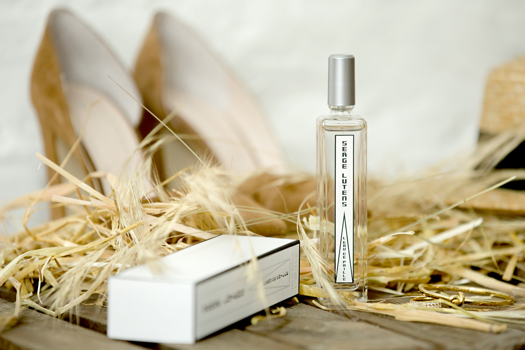 serge lutens l'eau de paille straw stroh land country cowgirl look strawhat heels jeans armerican summer sun chic yellow perfume scent love beauty beautyblogger cats & dogs fashionblog ricarda schernus modeblogger düsseldorf berlin 4
