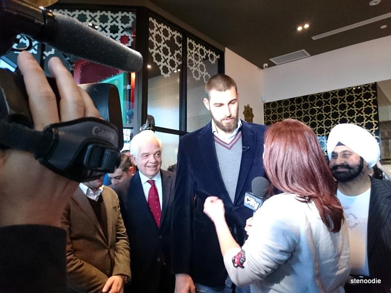 CityTV interviewing Jonas